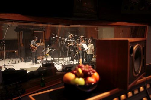 CalArts Jazz CD recording at Capitol Records