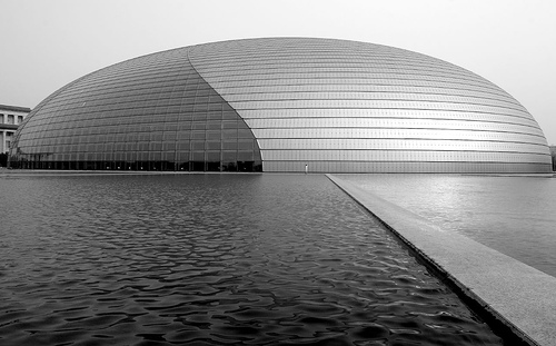The Beijing 'Bird's Egg' National Theater / Photo by Phoenix Han