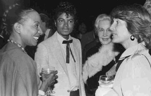Chrystine Lawson and Michael Jackson