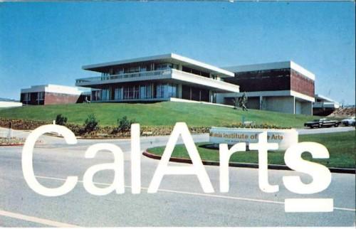 A CalArts postcard