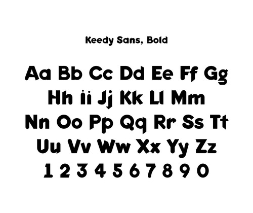 Keedy Sans