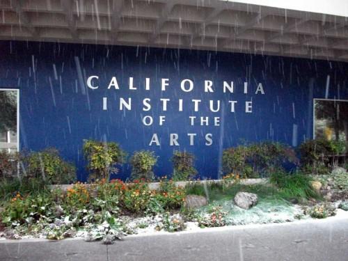 Snow at CalArts