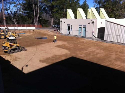 New Art studio construction
