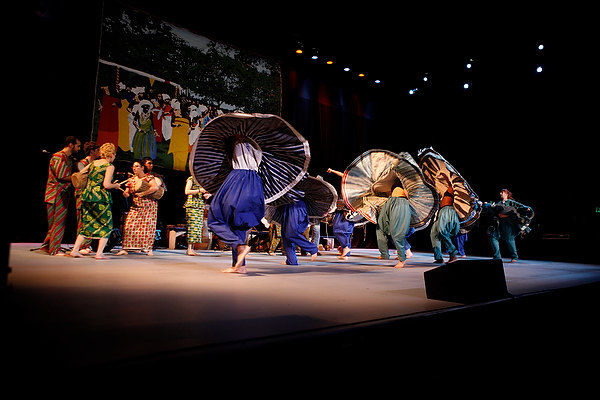 The CalArts African Music and Dance Ensemble | Photo: Scott Groller