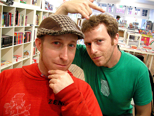 Davy and Peter Rothbart