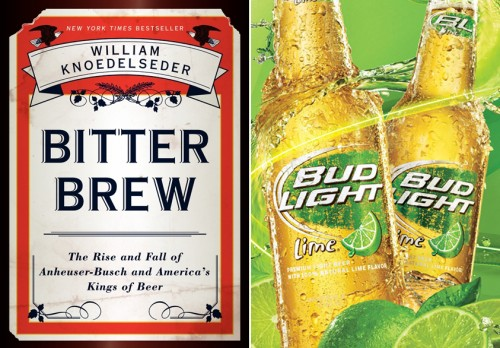 MFA Writer Tom Dribblee on America's beer dynasty and Bud Light Lime.