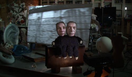Screenshot from David Bowie's 'Where are We Now' video by Tony Oursler.