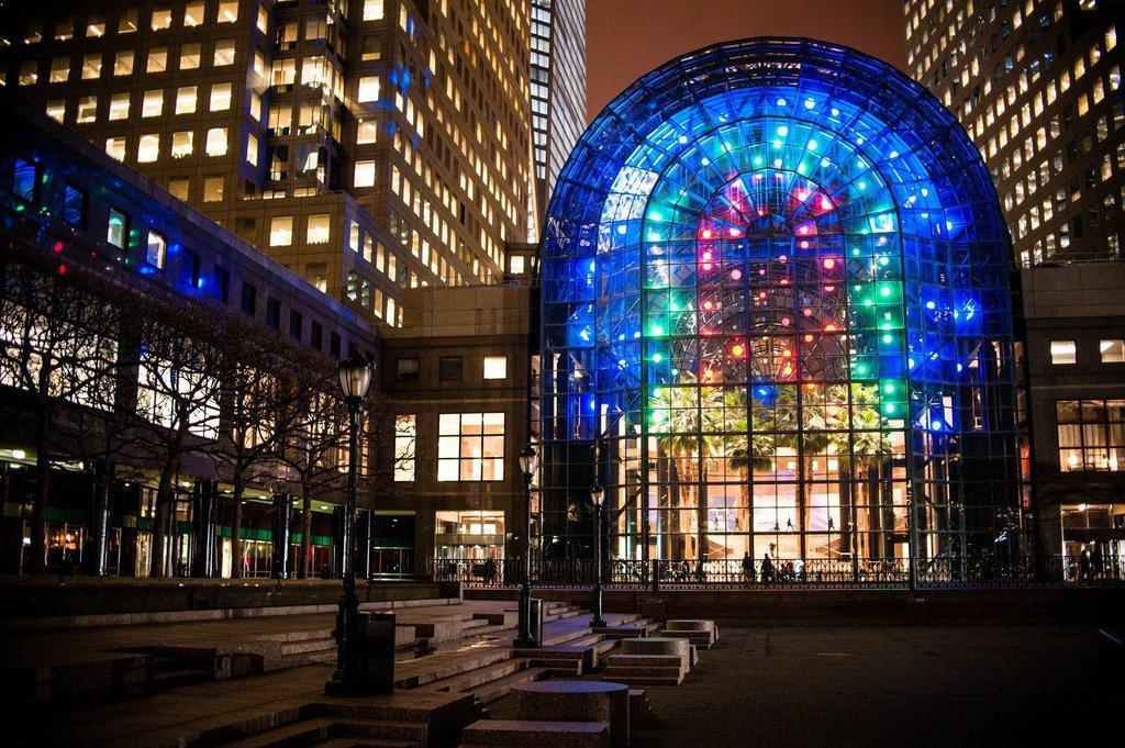 Calartian Lighting Designer Transforms Nyc Glass Atrium