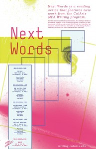 Next Words poster