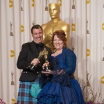 Oscar winners Mark Andrews and Brenda Chapman | Photo: Heather Ikei / ©A.M.P.A.S.
