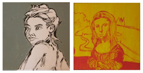 Works by Mary Cohen on view in Pacific Palisades. (Images: Courtesy of the artist)