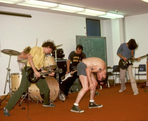 Black Flag live at CalArts on Nov. 11, 1982 | Photo: B. Tucker