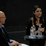Cecily Strong visited CalArts, her alma mater, earlier this month to talk to the School of Theater.