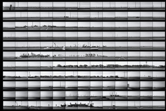 Ed Ruscha. 'Contact sheet - Pacific Coast Highway,' 1974-1975. | Photo: The Getty Research Institute, Los Angeles (2012.M.2)