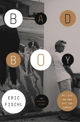 Eric Fischl is the commencement speaker for the 2013 CalArts Graduation ceremony. | Image: Fischl's memoir, 'Bad Boy.'