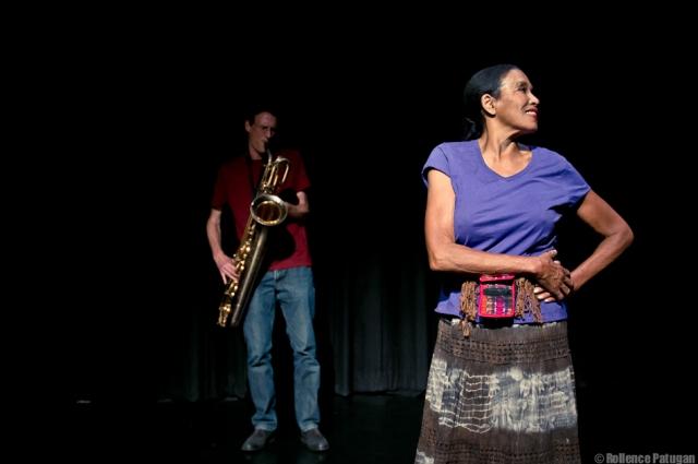 Keith Glassman's choreography also features septuagenarian-performer Klyda Mahoney.   Photo: Rollence Patugan