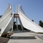 The Martin Luther King, Jr. Memorial at the Compton Civic Center Plaza | Photo: Machine Project