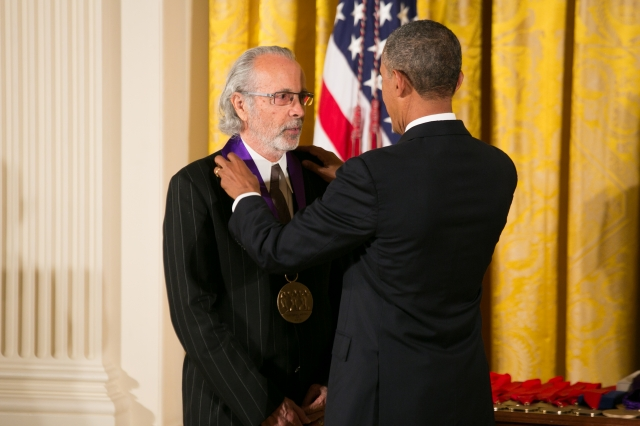 Herb Alpert received the award from President Barack Obama on July 10. | Photo: Ralph Alswang