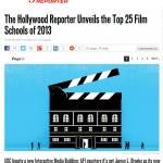 The Hollywood Reporter's report on the top 25 film schools in the nation.