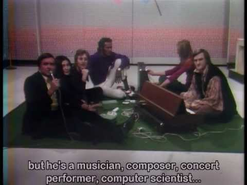 John Lennon, Yoko Ono & Chuck Berry with David Rosenboom on the Mike Douglas Show