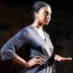Condola Rashad, a CalArts School of Theater alumna, stars as Juliet on Broadway.  (Image: Screenshot)