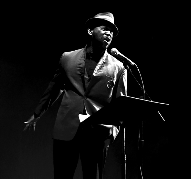 Roger Bonair-Agard. | Photo: Jill Steinberg