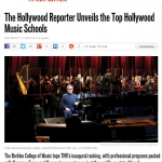 The Hollywood Reporter ranks CalArts as one of top ten music schools.