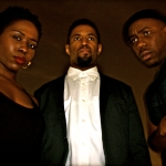 The cast of 'Cracking Zeus.' From left to right: Sola Bamis, Amari Cheatom and Derrek Jennings. | Photo courtesy Christopher Hampton