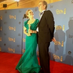 Jennifer Lee and Chris Buck directed Disney Animation's 'Frozen,' which earned a Golden Globe on Sunday night. | Photo: HFPA