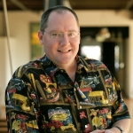 CalArts alumnus John Lasseter returns to his alma mater to receive an honorary degree. | Photo: © Disney