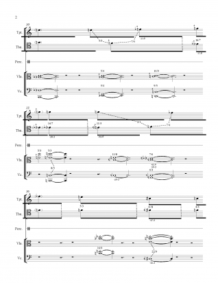 A score excerpt from Andrew McIntosh's work, 'Silver & White' | Score courtesy Andrew McIntosh