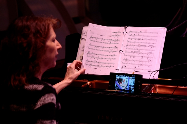 Vicki Ray performs 'Concerto for Prepared Piano and Symphony Orchestra' by Amir Konjani at The Wild Beast in February. | Photo: Scott Groller
