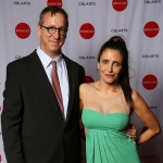 Tim Disney with wife Neda Disney at the REDCAT Gala in March. | Photo: Steven A Gunther.