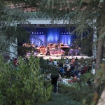 Outdoor concert at the Wild Beast: A Tribute to John Bergamo at CalArts Weekend 2014 | Photo: Steve Gunther