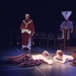 Opening Scene from 'Becket's Honour.' | Courtesy of Drive Theatre Company.