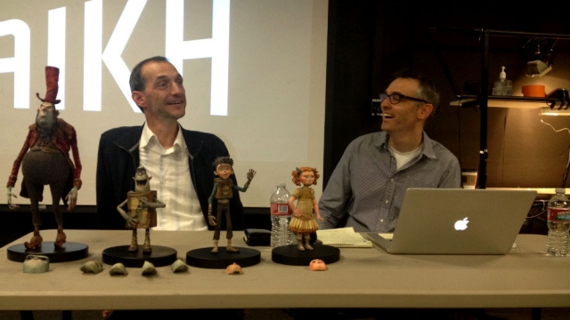 'The Boxtrolls' directors Anthony Stacchi and Graham Annable were at CalArts last week to talk about their filmmaking process.