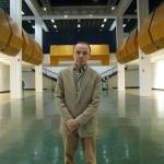 Artist and teacher Daniel Joseph Martinez at CalArts, his alma mater.