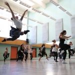 Mock dance auditions at CalArts on March 12 | Photo: Rafael Hernandez