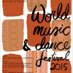 The CalArts World Music Festival is this weekend.