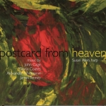 The album art for Susie Allen's 'Postcard From Heaven'