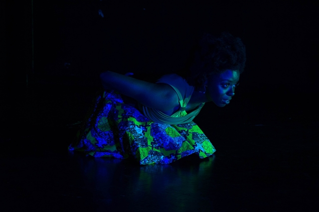 Shaina Lynn in 'Bayou Blues.' | Photo courtesy CalArts Festival Theater