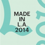 'The Made in L.A. 2014' catalog was named one of the '50 Books | 50 Covers' winners. (Image: Courtesy of Design Observer)