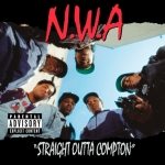 CalArts alumnus Eric Poppleton created this iconic image on N.W.A.'s debut album. | Image: (c) N.W..A.