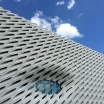 The Broad's exterior 'veil.' | Photo: Christine N. Ziemba