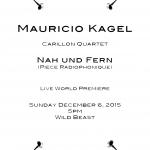 Microsoft Word - Mauricio Kagel poster.docx