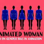 Poster for 'The Animated Woman.'