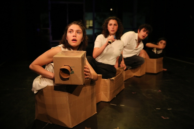 From the CNP workshop production of 'Shelter' at CalArts.