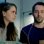 Mae Whitman and Martin Starr in CalArts alum Logan Kiben's debut feature, 'Operator.'