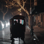 Screenshot from trailer for 'Goodbye' (我走了, 再见) by Xiaolu Hu.