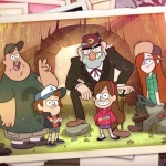 Alex Hirsch's 'Gravity Falls' began at CalArts. (Image: Screen shot)